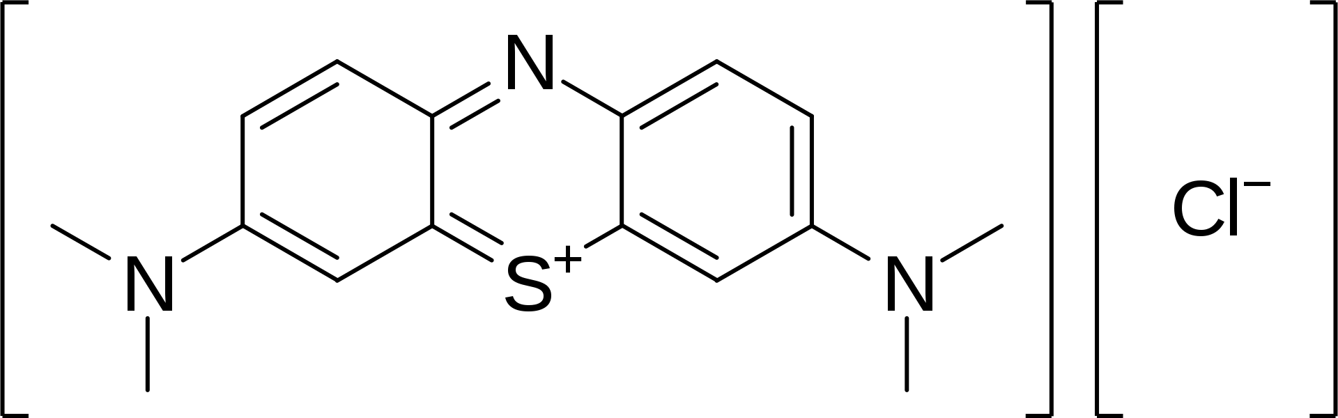 Methylene blue       structure